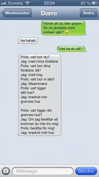 roliga sms